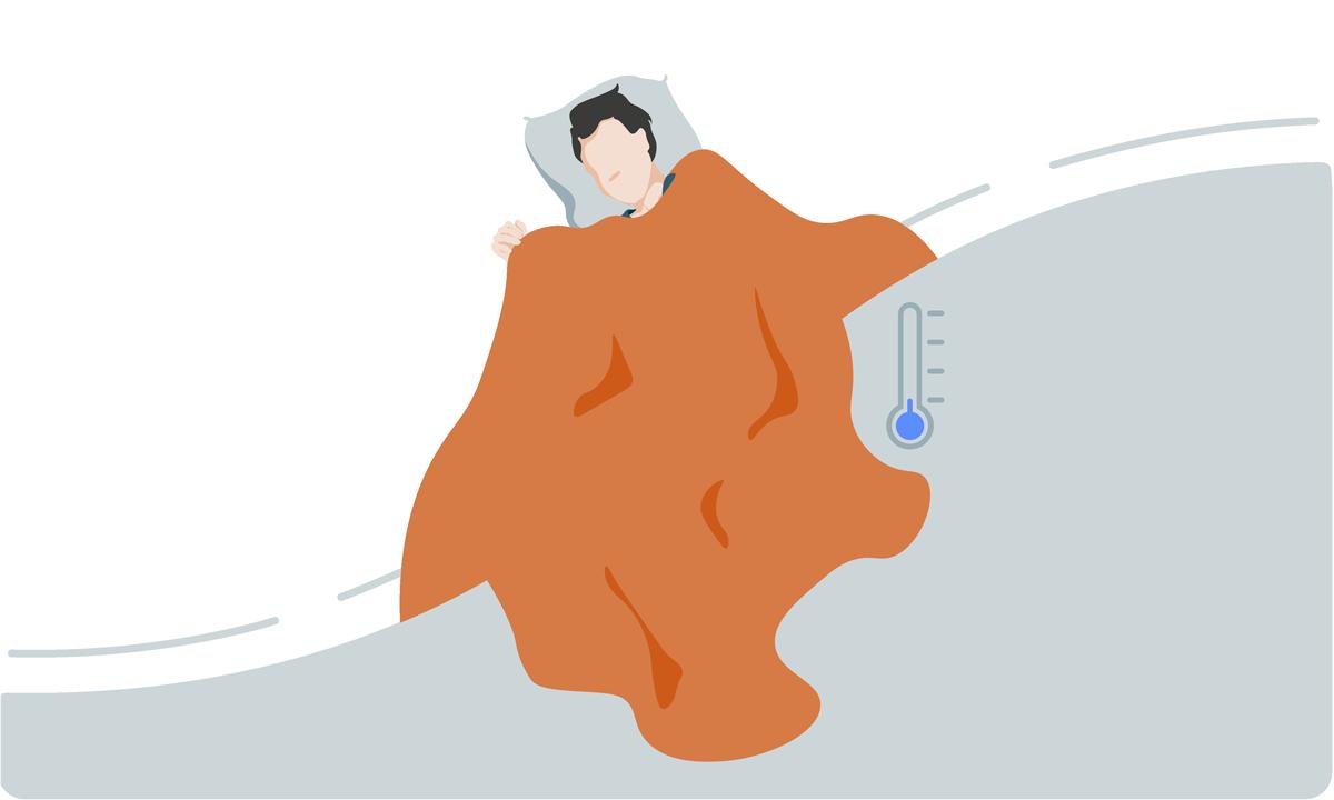 Häufig kalt im Bett