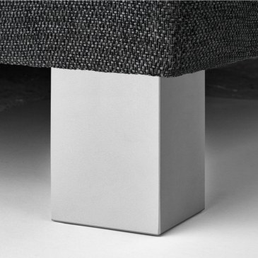 Blockbein Aluminiumfarbe