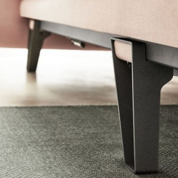 Design Bein Metalleinlage
